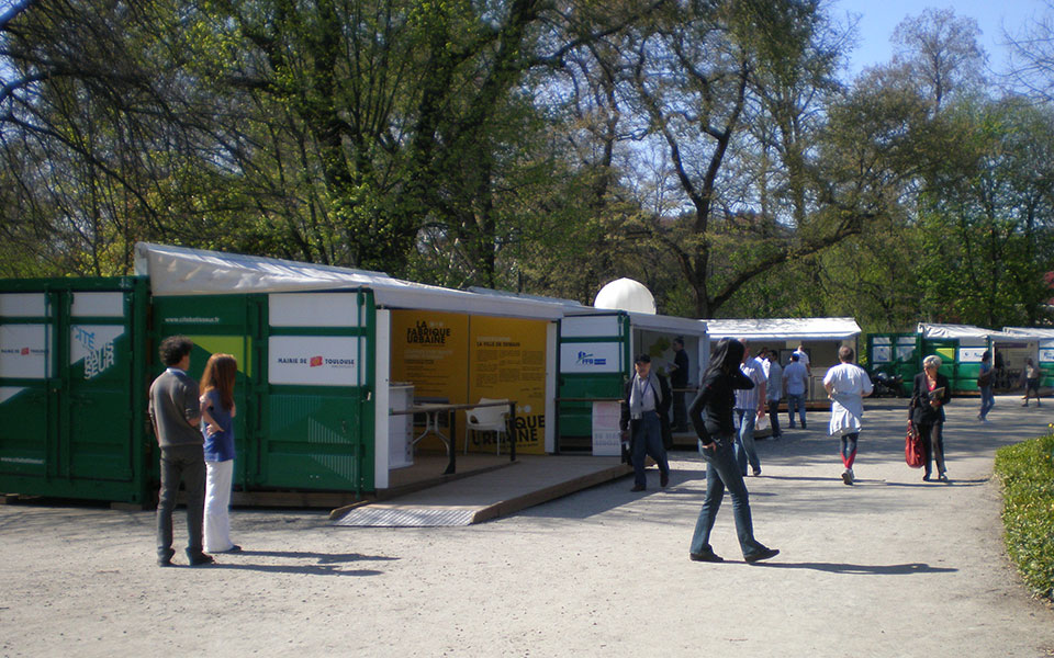 Plein air bisons logistique for Jardin grand rond toulouse